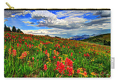 The Art Of Wildflowers Carry-all Pouch by Scott Mahon