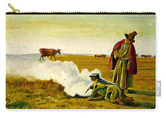Carry-all Pouch featuring the painting The Autumn by Henryk Gorecki