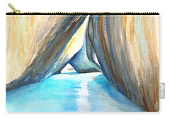 The Baths Azul Carry-all Pouch by Carlin Blahnik