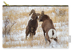 The Battle For Dominance Carry-all Pouch by Jim Garrison