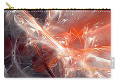 Carry-all Pouch featuring the digital art The Battle by Margie Chapman