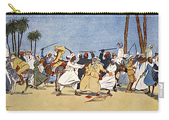 The Battle Of The Nile, From The Light Carry-all Pouch by Lance Thackeray