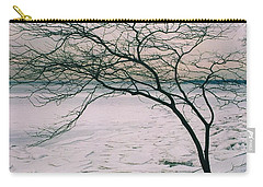 Carry-all Pouch featuring the photograph The Bay After The Storm by Dora Sofia Caputo Photographic Art and Design