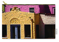 Carry-all Pouch featuring the photograph The Beach House by Jim Thompson