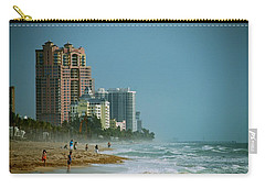 The Beach Near Fort Lauderdale Carry-all Pouch