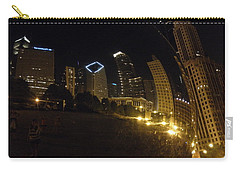 Carry-all Pouch featuring the photograph The Bean by Tiffany Erdman