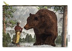 The Bear Woman Carry-all Pouch by Daniel Eskridge