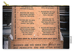 The Beatitudes Carry-all Pouch