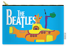 Rock N Roll The Beatles Carry-All Pouches