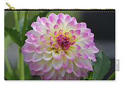The Beautiful Dahlia Carry-all Pouch
