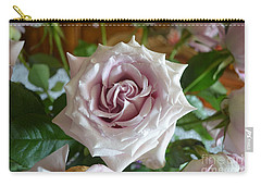 Carry-all Pouch featuring the photograph The Beauty Of A Flower by Jim Fitzpatrick