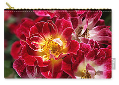 The Beauty Of Carpet Roses  Carry-all Pouch