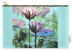 The Beauty Of The Lilies Carry-all Pouch