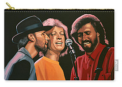 The Bee Gees Carry-all Pouch by Paul Meijering