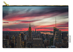 New York City Skyline Carry-all Pouches