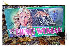 The Bionic Woman Carry-all Pouch
