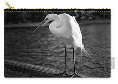 Carry-all Pouch featuring the photograph The Bird by Howard Salmon