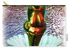 Carry-all Pouch featuring the digital art The Birth Of Vestonice Venus by Daniel Janda