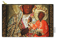 The Black Madonna Carry-all Pouch by Mariola Bitner
