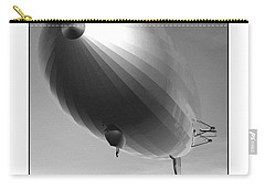 Carry-all Pouch featuring the digital art The Blimp... by Tim Fillingim