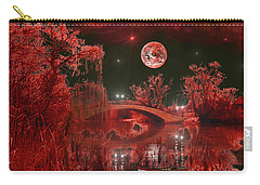 The Blood Moon Carry-all Pouch by Michael Rucker