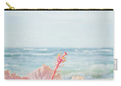 Carry-all Pouch featuring the photograph The Blue Dawn by Sharon Mau