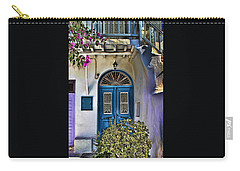 The Blue Door-santorini Carry-all Pouch