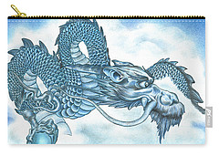 The Blue Dragon Carry-all Pouch
