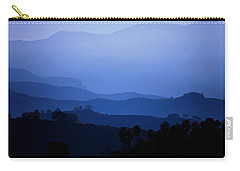 Carry-all Pouch featuring the photograph The Blue Hills by Matt Harang
