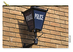 The Blue Lamp Carry-all Pouch by Ron Harpham