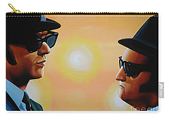The Blues Brothers Carry-all Pouch by Paul Meijering