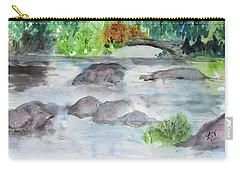 The Bog On Tupper Lake Carry-all Pouch