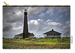 The Bolivar Lighthouse Carry-all Pouch by Linda Unger