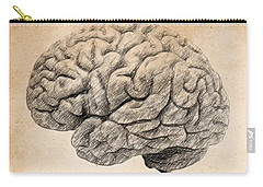 The Brain Is Wider Than The Sky Carry-all Pouch by Taylan Apukovska