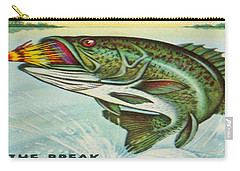 Carry-all Pouch featuring the digital art The Break by Cathy Anderson