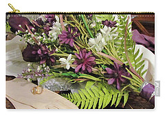 Carry-all Pouch featuring the photograph The Bride To Be by Cynthia Guinn