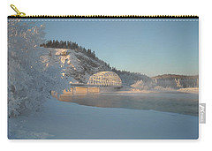The Bridge At Big Delta 2 Carry-all Pouch by Cathy Mahnke