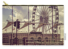 Carry-all Pouch featuring the photograph The Brighton Wheel by Chris Lord