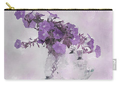 The Broken Branch - Digital Watercolor Carry-all Pouch by Sandra Foster