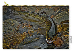 The Brown Trout Carry-all Pouch