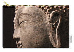 Carry-all Pouch featuring the photograph The Buddha 2 by Lynn Sprowl