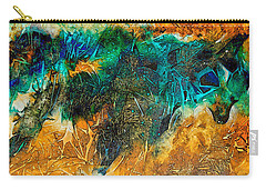 The Bull By Sharon Cummings Carry-all Pouch by Sharon Cummings
