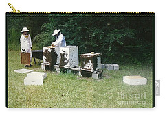 Carry-all Pouch featuring the photograph Louisiana Honey Bees by Michael Hoard