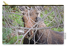 Carry-all Pouch featuring the photograph The Calf by Lynn Sprowl