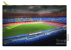 The Camp Nou Stadium In Barcelona Carry-all Pouch