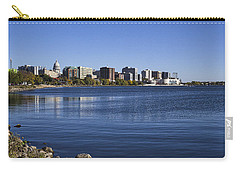 The Capitol And Monona Terrrace - Madison - Wisconsin Carry-all Pouch