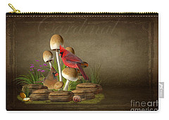 The Cardinal Carry-all Pouch by Davandra Cribbie