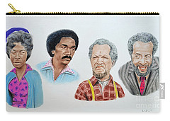 The Cast Of Sanford And Son  Carry-all Pouch