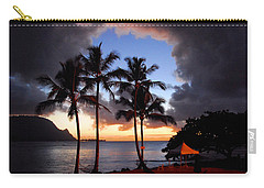Carry-all Pouch featuring the photograph The Center Of The Storm by Lynn Bauer