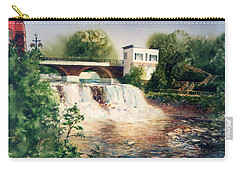 The Chagrin Falls In Summer Carry-all Pouch